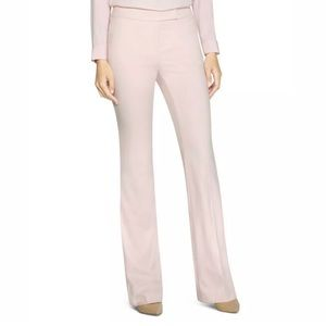 WHBM Pink Luxe Flare Leg Pants Trousers NEW!
